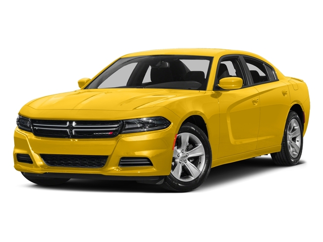 Yellow Jacket Clearcoat 2017 Dodge Charger Pictures Charger Sedan 4D SE AWD V6 photos front view