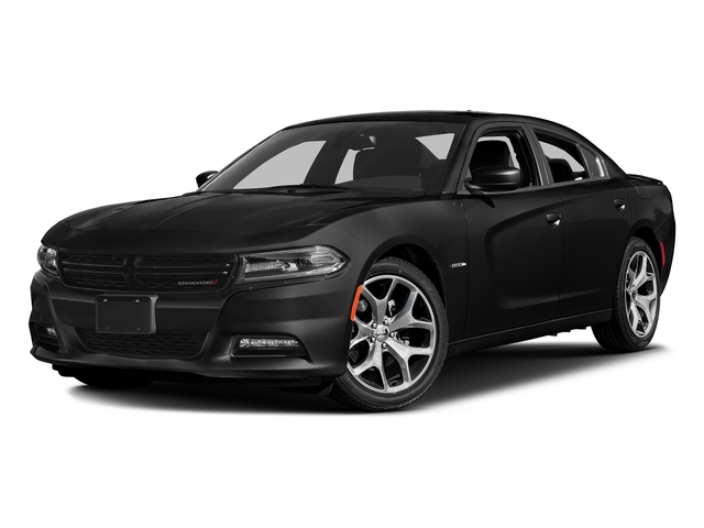Pitch Black Clearcoat 2017 Dodge Charger Pictures Charger Sedan 4D R/T V8 photos front view
