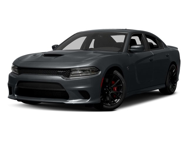 Maximum Steel Metallic Clearcoat 2017 Dodge Charger Pictures Charger Sedan 4D SRT Hellcat V8 Supercharged photos front view