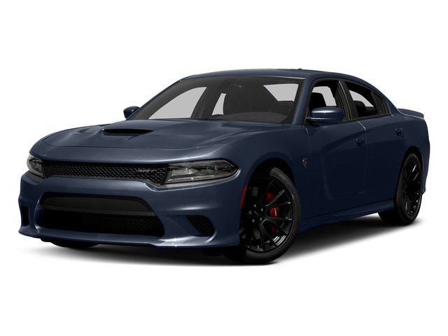 Contusion Blue Pearlcoat 2017 Dodge Charger Pictures Charger Sedan 4D SRT Hellcat V8 Supercharged photos front view