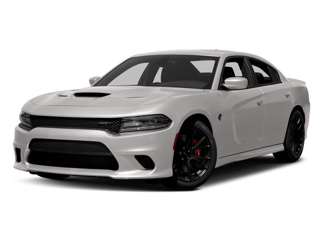 Destroyer Gray Clearcoat 2017 Dodge Charger Pictures Charger Sedan 4D SRT Hellcat V8 Supercharged photos front view
