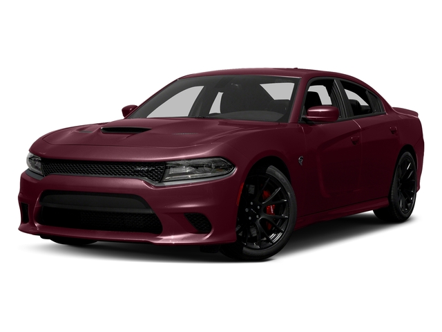Octane Red Pearlcoat 2017 Dodge Charger Pictures Charger Sedan 4D SRT Hellcat V8 Supercharged photos front view