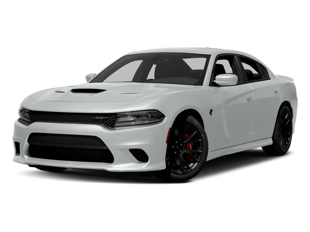 White Knuckle Clearcoat 2017 Dodge Charger Pictures Charger Sedan 4D SRT Hellcat V8 Supercharged photos front view