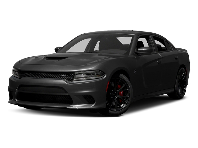 Pitch Black Clearcoat 2017 Dodge Charger Pictures Charger Sedan 4D SRT Hellcat V8 Supercharged photos front view