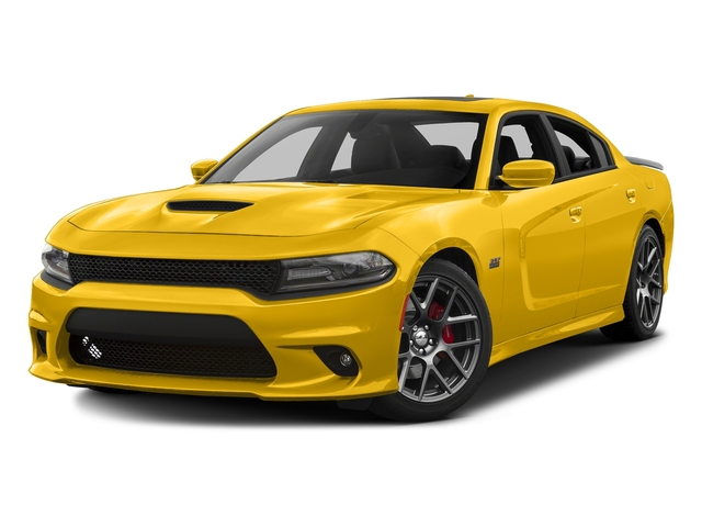 Yellow Jacket Clearcoat 2017 Dodge Charger Pictures Charger Sedan 4D Daytona 392 V8 photos front view