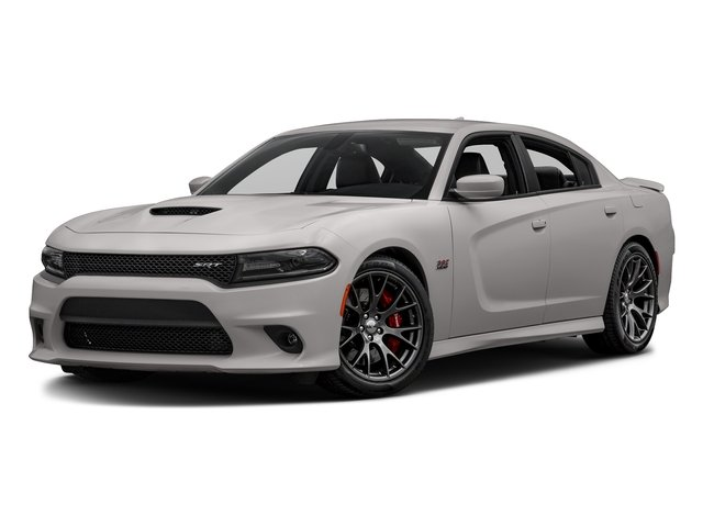 Destroyer Gray Clearcoat 2017 Dodge Charger Pictures Charger Sedan 4D SRT 392 V8 photos front view