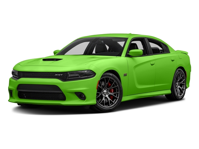 Green Go Clearcoat 2017 Dodge Charger Pictures Charger Sedan 4D SRT 392 V8 photos front view