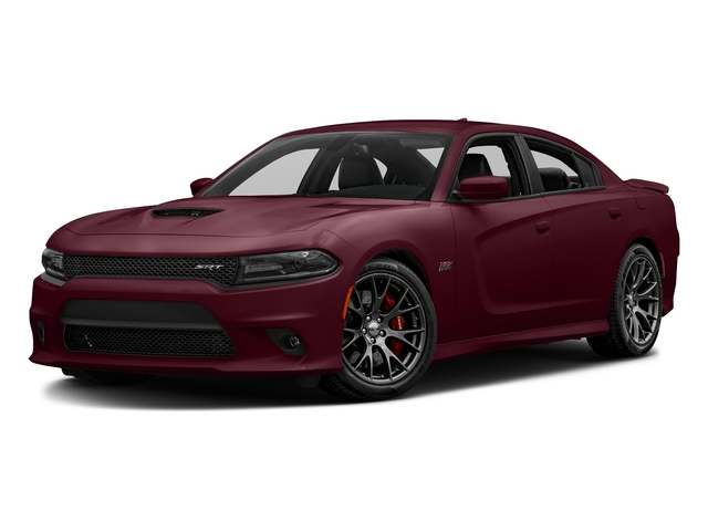 Octane Red Pearlcoat 2017 Dodge Charger Pictures Charger Sedan 4D SRT 392 V8 photos front view