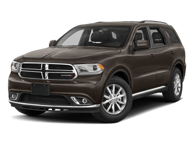 Stout Brown Met. Clearcoat 2017 Dodge Durango Pictures Durango Utility 4D GT AWD V6 photos front view