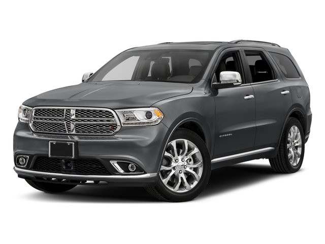 Granite Metallic Clearcoat 2017 Dodge Durango Pictures Durango Utility 4D Citadel 2WD V6 photos front view