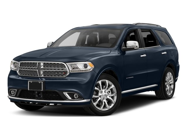 Blu By You Pearlcoat 2017 Dodge Durango Pictures Durango Citadel RWD photos front view