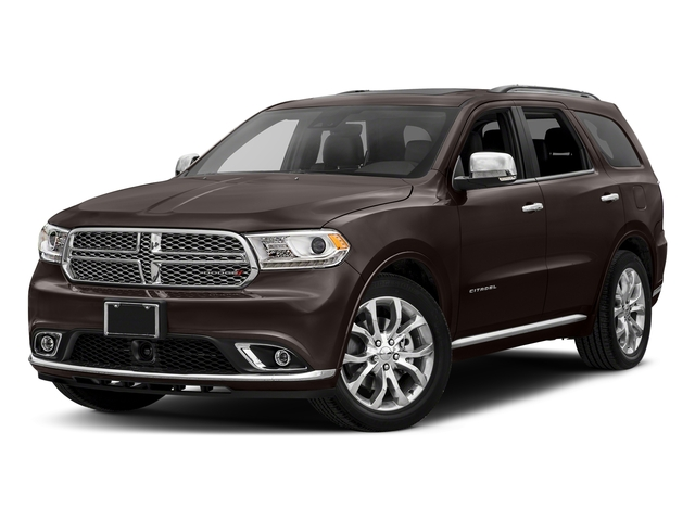 Bomber Brown Pearlcoat 2017 Dodge Durango Pictures Durango Citadel RWD photos front view