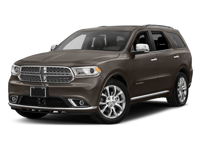 Stout Brown Met. Clearcoat 2017 Dodge Durango Pictures Durango Utility 4D Citadel AWD V6 photos front view