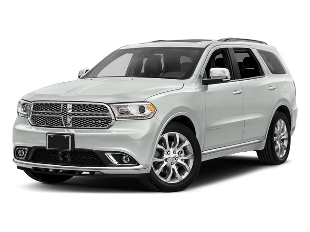 White Knuckle Clearcoat 2017 Dodge Durango Pictures Durango Utility 4D Citadel AWD V6 photos front view