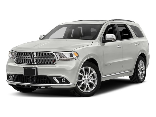 Vice White Tri-Coat Pearl 2017 Dodge Durango Pictures Durango Utility 4D Citadel AWD V6 photos front view