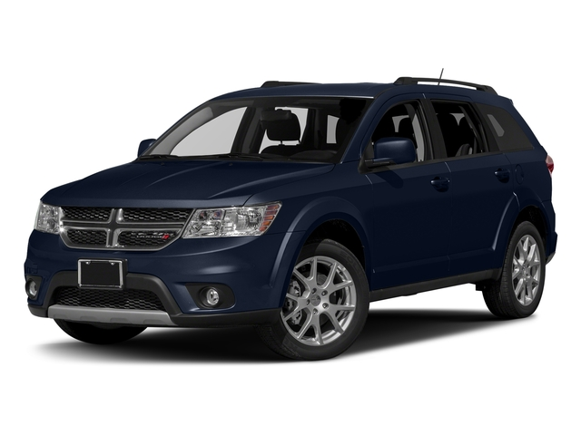 Contusion Blue Pearlcoat 2017 Dodge Journey Pictures Journey Utility 4D SXT AWD V6 photos front view