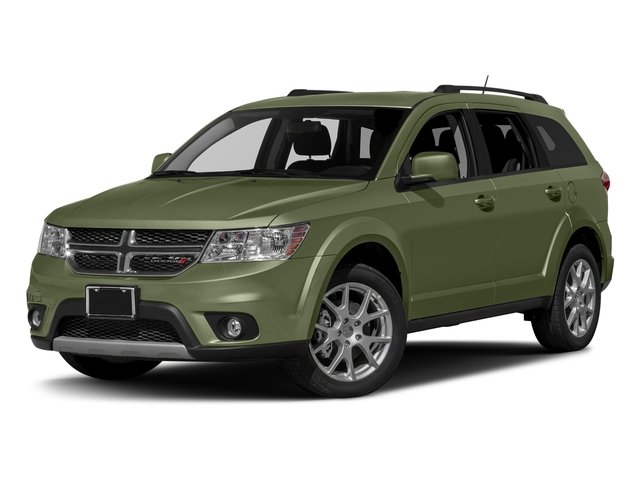 Verde Oliva (Olive Green) 2017 Dodge Journey Pictures Journey Utility 4D SXT AWD V6 photos front view