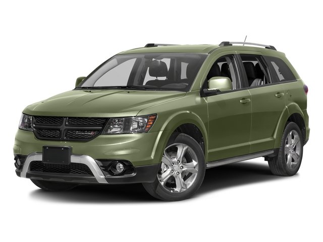 Verde Oliva (Olive Green) 2017 Dodge Journey Pictures Journey Utility 4D Crossroad AWD V6 photos front view