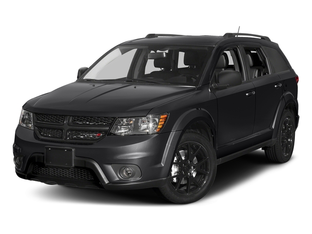 Pitch Black Clearcoat 2017 Dodge Journey Pictures Journey Utility 4D GT 2WD V6 photos front view