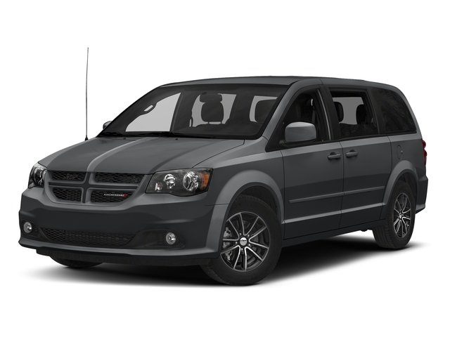 Granite Pearlcoat 2017 Dodge Grand Caravan Pictures Grand Caravan GT Wagon Fleet photos front view