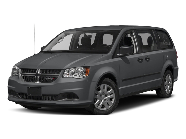 Granite Pearlcoat 2017 Dodge Grand Caravan Pictures Grand Caravan Grand Caravan SE V6 photos front view