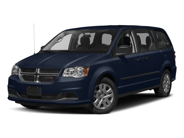 Contusion Blue Pearlcoat 2017 Dodge Grand Caravan Pictures Grand Caravan Grand Caravan SE V6 photos front view