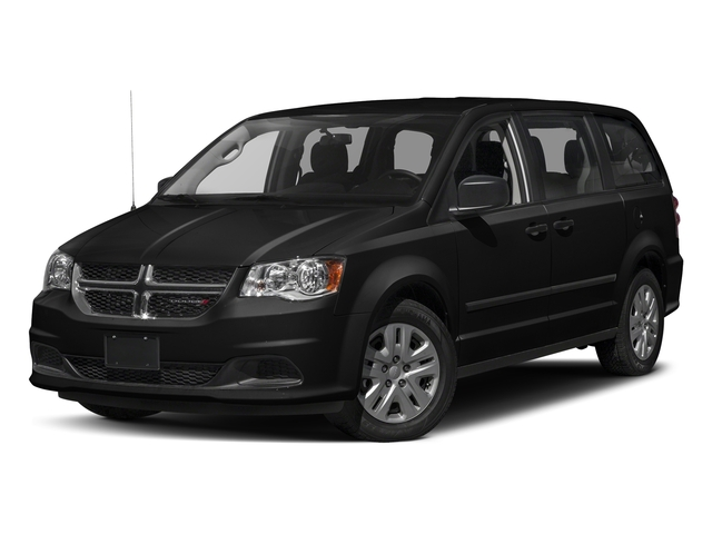 Black Onyx Crystal Pearlcoat 2017 Dodge Grand Caravan Pictures Grand Caravan Grand Caravan SE V6 photos front view