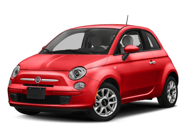 Spitfire Orange 2017 FIAT 500 Pictures 500 Lounge Hatch photos front view
