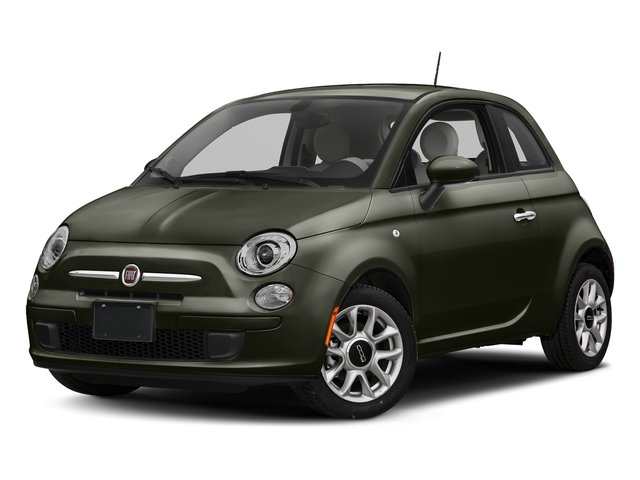 Verde Oliva (Olive Green) 2017 FIAT 500 Pictures 500 Pop Hatch photos front view