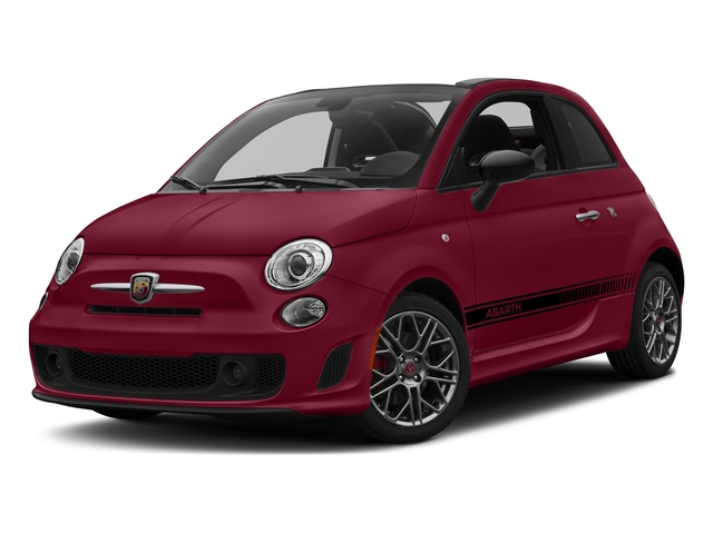 Rosso (Red) 2017 FIAT 500 Abarth Pictures 500 Abarth Cabrio photos front view