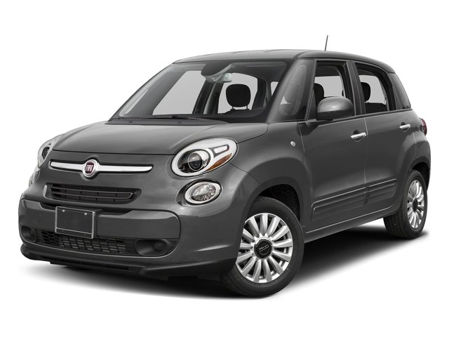 Grigio Scuro (Gray Metallic) 2017 FIAT 500L Pictures 500L Pop Hatch photos front view