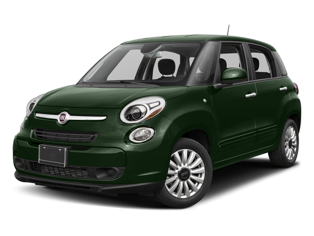 Verde Bosco Perla (Forest Green) 2017 FIAT 500L Pictures 500L Pop Hatch photos front view
