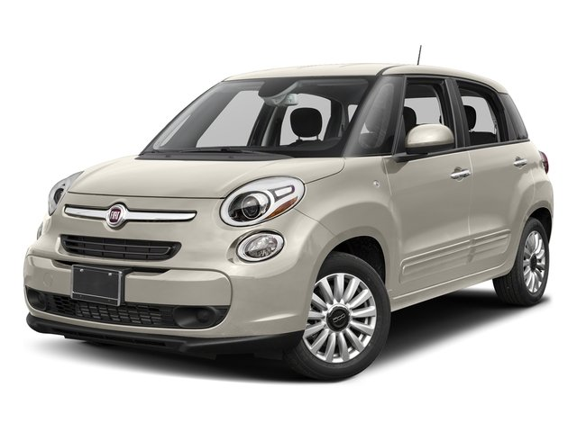 Bianco (White) 2017 FIAT 500L Pictures 500L Pop Hatch photos front view