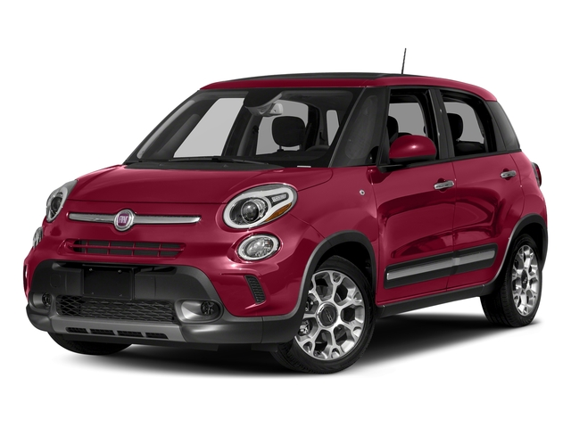 Rosso Perla (Deep Lava Red Pearl) 2017 FIAT 500L Pictures 500L Trekking Hatch photos front view