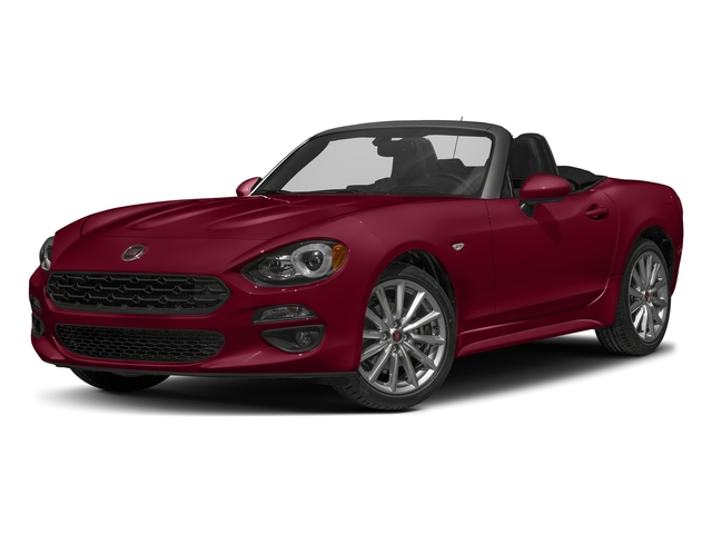 Rosso Red 2017 FIAT 124 Spider Pictures 124 Spider Lusso Convertible photos front view