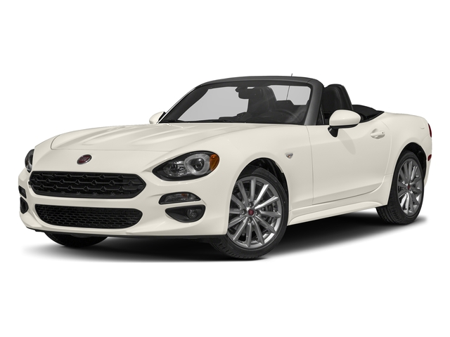 Bianco Perla (Tri-Coat White) 2017 FIAT 124 Spider Pictures 124 Spider Lusso Convertible photos front view