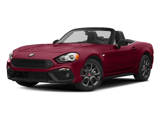 Rosso Red 2017 FIAT 124 Spider Pictures 124 Spider Conv 2D Elaborazione Abarth I4 Turbo photos front view