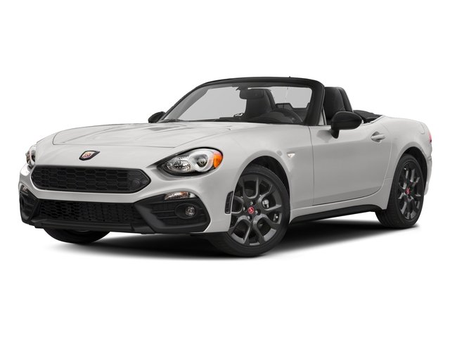 Bianco Gelato White 2017 FIAT 124 Spider Pictures 124 Spider Conv 2D Elaborazione Abarth I4 Turbo photos front view
