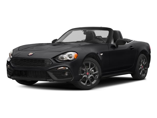 Nero Cinema Jet Black 2017 FIAT 124 Spider Pictures 124 Spider Conv 2D Elaborazione Abarth I4 Turbo photos front view