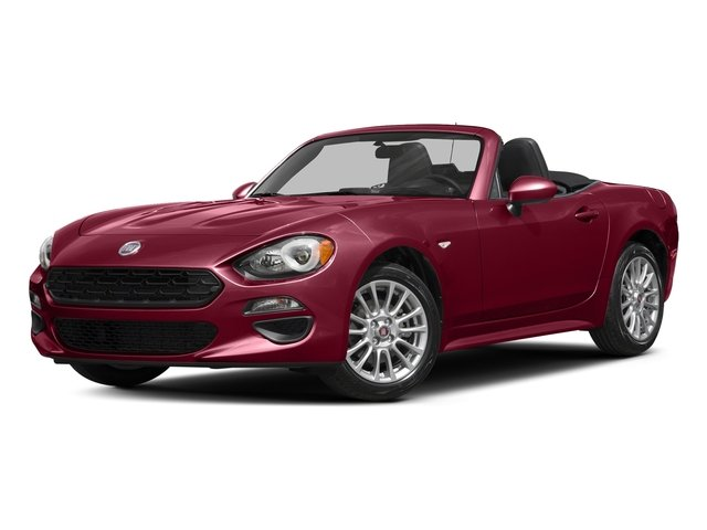 Rosso Red 2017 FIAT 124 Spider Pictures 124 Spider Convertible 2D Classica I4 Turbo photos front view