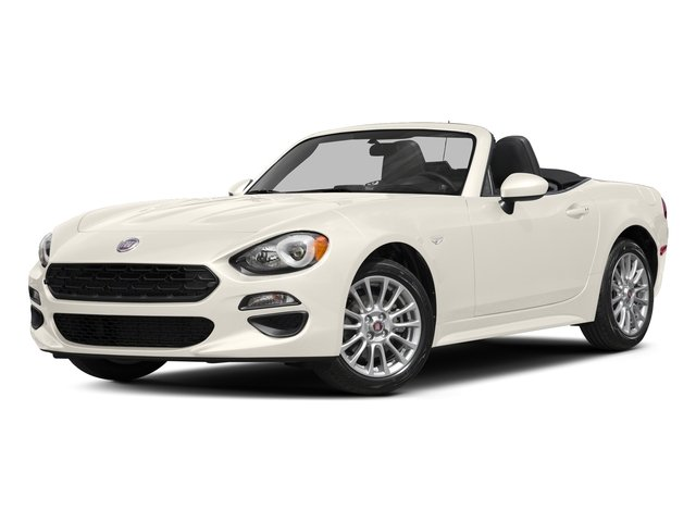 Bianco Gelato White 2017 FIAT 124 Spider Pictures 124 Spider Convertible 2D Classica I4 Turbo photos front view