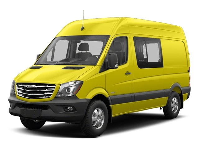 Calcite Yellow 2017 Freightliner Light Duty Sprinter Crew Van Pictures Sprinter Crew Van 2500 High Roof V6 170 4WD photos front view