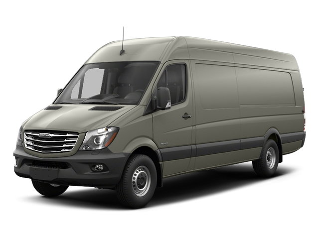 Pearl Silver Metallic 2017 Freightliner Light Duty Sprinter Cargo Van Pictures Sprinter Cargo Van 3500 High Roof V6 170 Extended RWD photos front view