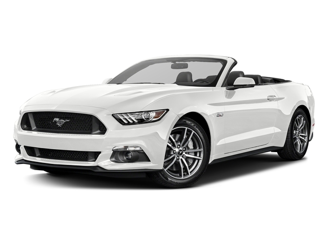 Oxford White 2017 Ford Mustang Pictures Gt Premium Convertible Photos Front View