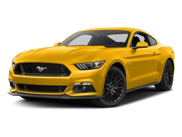 Triple Yellow Tri-Coat 2017 Ford Mustang Pictures Mustang Coupe 2D GT V8 photos front view