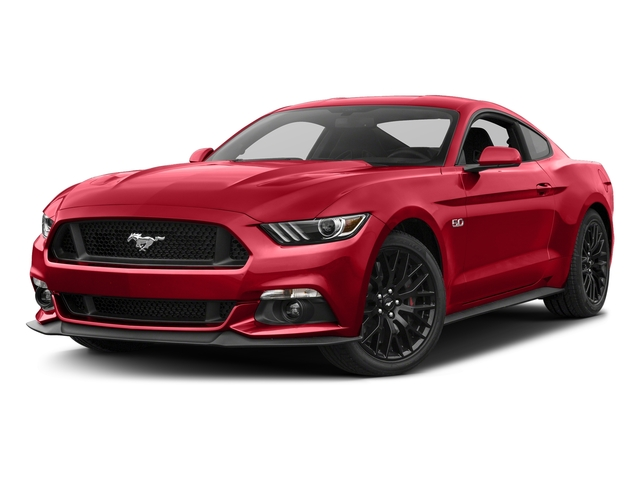 Race Red 2017 Ford Mustang Pictures Mustang Coupe 2D GT V8 photos front view