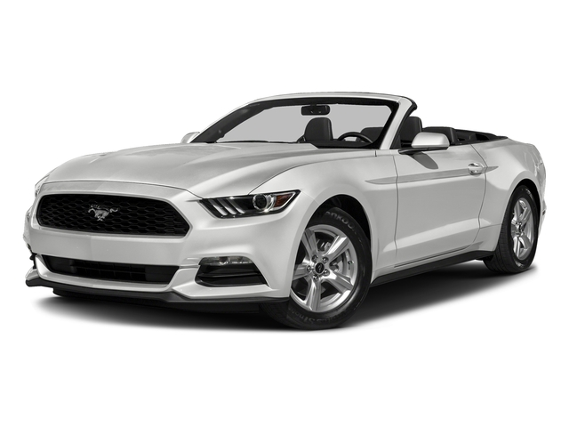 Oxford White 2017 Ford Mustang Pictures Ecoboost Premium Convertible Photos Front View