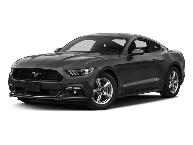 Magnetic Metallic 2017 Ford Mustang Pictures Mustang Coupe 2D EcoBoost I4 Turbo photos front view