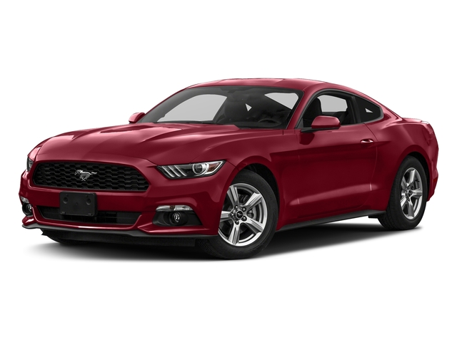 Ruby Red Metallic Tinted Clearcoat 2017 Ford Mustang Pictures Mustang Coupe 2D EcoBoost I4 Turbo photos front view