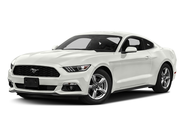 White Platinum Metallic Tri Coat 2017 Ford Mustang Pictures V6 Fastback Photos Front View